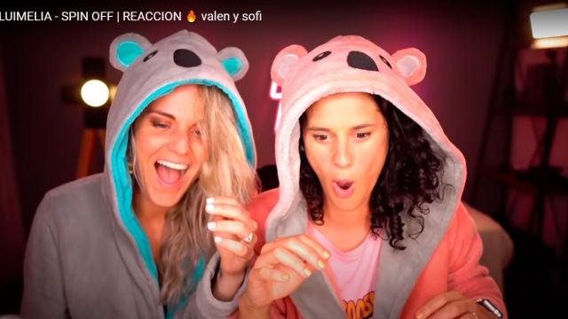 'Luimelia' se hace viral en Argentina gracias a las divertidas reacciones de Valen y Sofi, una pareja influencer