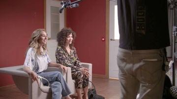 Un plató especial y un rodaje muy divertido ¡así vivieron Paula Usero y Carol Rovira la grabación del tercer capítulo de #Luimelia Dos!