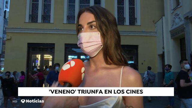 """'Veneno' logra el número uno en la taquilla de nuestro país: """"En esta serie vas a reír, llorar y gritar"""""""