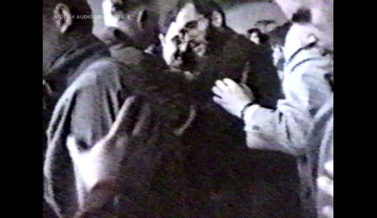 """El instante de la liberación de José Antonio Ortega Lara: """"Era una mirada de falta de vida"""""""