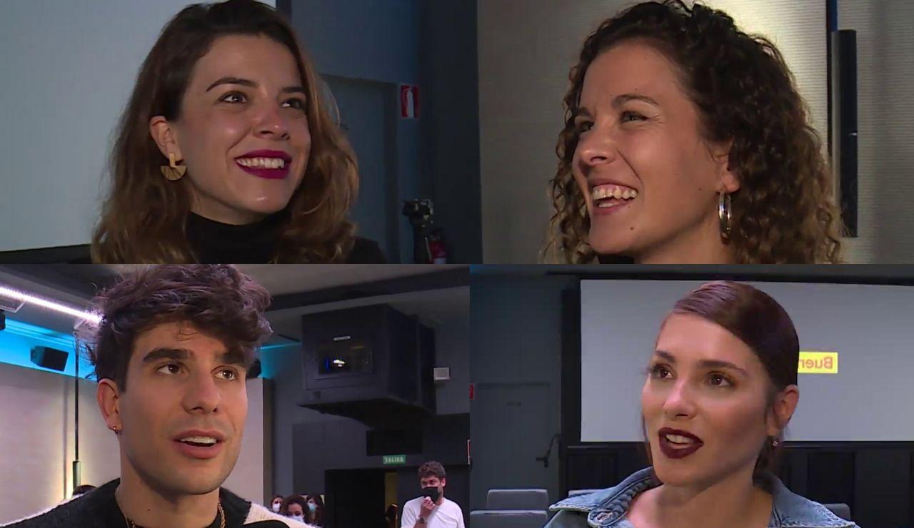 Lágrimas y mucha emoción: Las primeras reacciones de protagonistas tras el visionado de 'FOQ: el reencuentro'