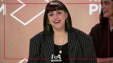 Angy Fernández durante la rueda de prensa de 'FOQ: el reencuentro'