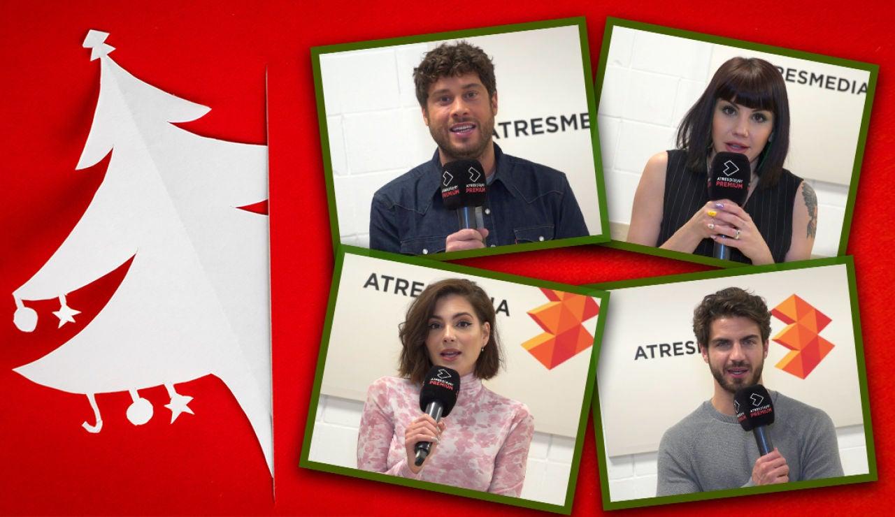 El emotivo mensaje de Navidad de los actores de 'FOQ: el reencuentro'