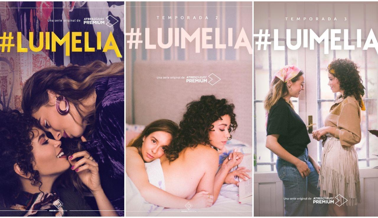 Tras el éxito acumulado, '#Luimelia' renueva por una cuarta temporada en ATRESplayer PREMIUM