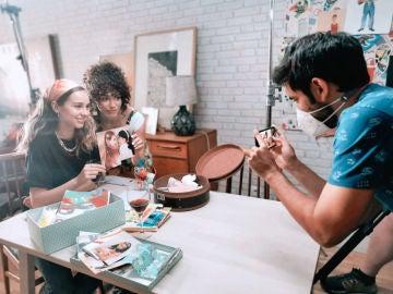 Emoción en el rodaje, el diario de Luisita y más curiosidades de #Luimelia 3x02, con Anto Garzía