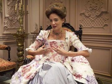 """María Hervás: """"El objetivo de Amelia es encontrar un marido para sobrevivir en el alto estatus"""""""