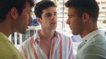 """Hugo se enfrenta a Jacobo y Rubén por Alba: """"¿Soy yo el único que está mal?"""""""