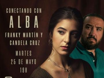 En directo: Candela Cruz y Franky Martín derrochan complicidad hablando sobre sus personajes en 'Alba'