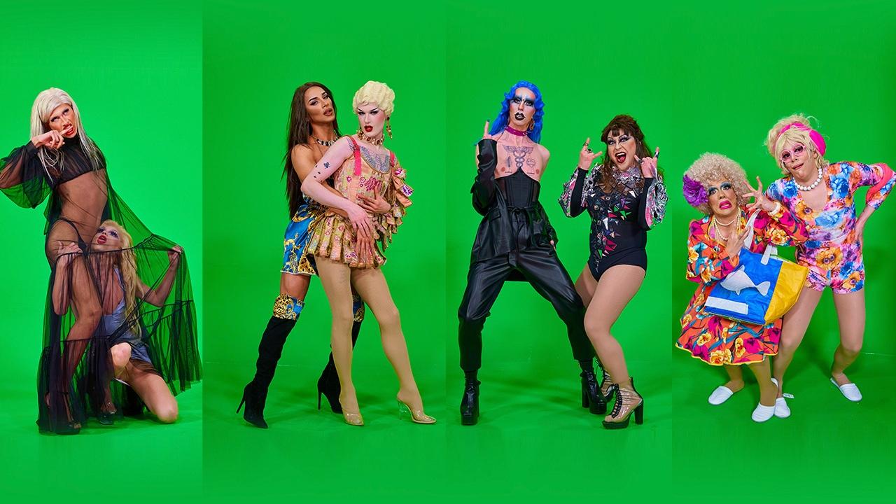 Las reinas de 'Drag Race España' y su sesión de fotos más hot... y divertida