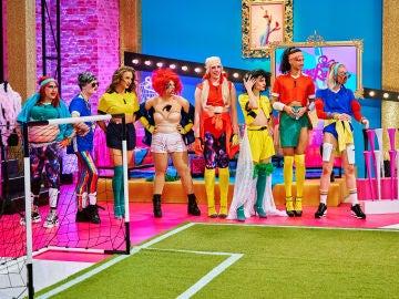 'Drag Race España' estrena club de fútbol: ¡mira qué equipazo!