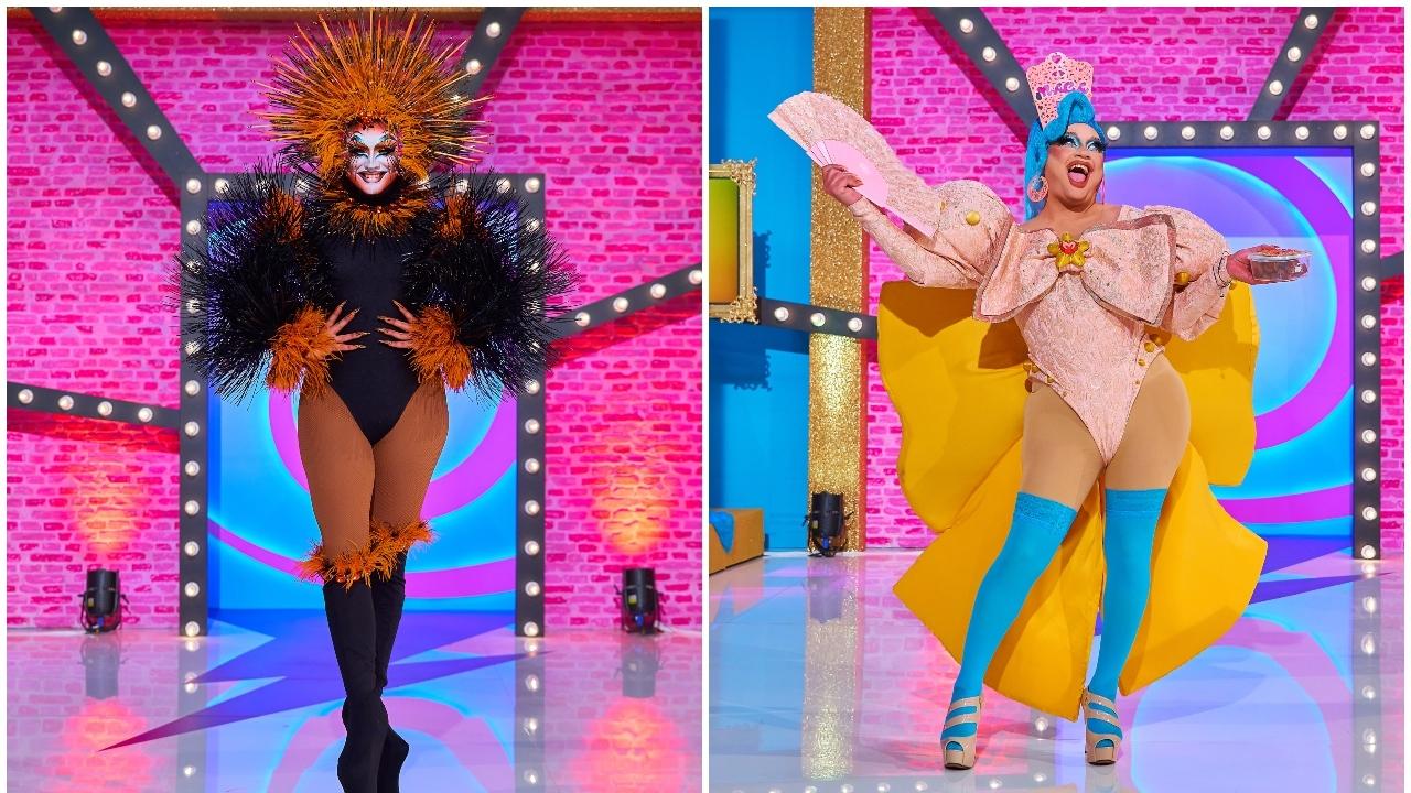 Drag Vulcano y The Macarena se unen a la pasarela 'Mis Raíces': descubre sus looks