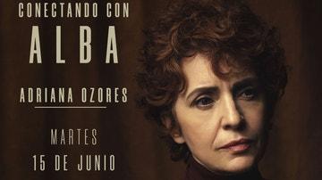 Este martes, entrevista en directo con Adriana Ozores en @ATRESplayer