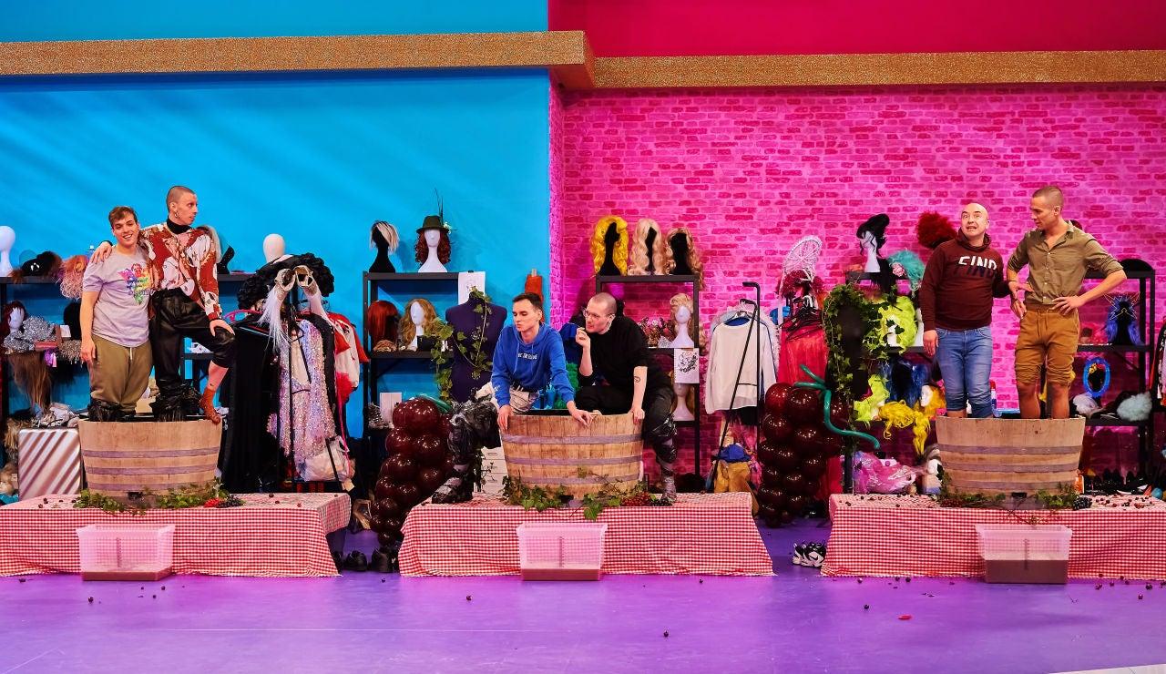 """""""Dos maricas en una barrica"""": un mini reto con mucho jugo en 'Drag Race España'"""