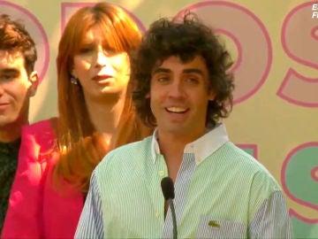 Irene Montero entrega a Javier Calvo, Javier Ambrossi y Valeria Vegas el premio al Reconocimiento a la visibilidad trans por 'Veneno'