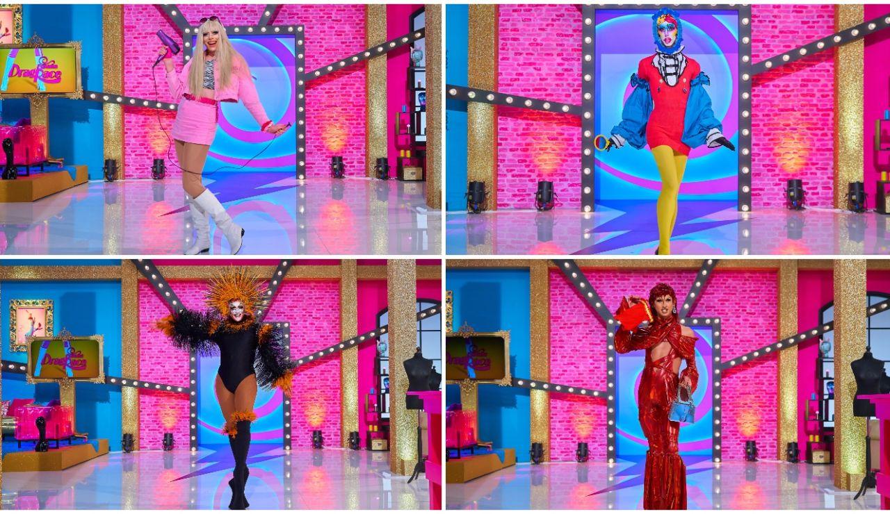 ¡Cuánto poderío! Las reinas eliminadas de 'Drag Race España' hacen sus propias réplicas de Rosalía