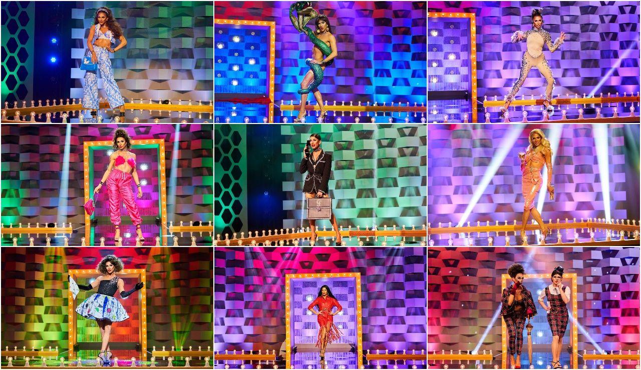 Los looks de Carmen Farala en la pasarela de 'Drag Race España': ¡vota por tu favorito!