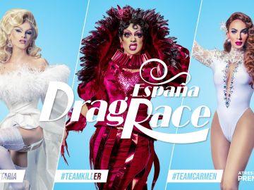 Las redes eligen a su reina para la final de 'Drag Race España', ¿cuál es tu #team?