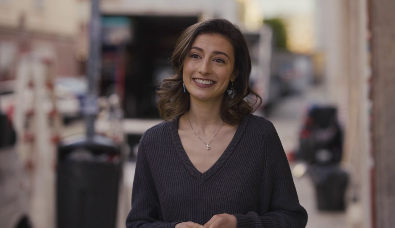 """Alba Gutiérrez, sobre la escena de sexo entre Nacho y Marina: """"Fue una maravilla"""""""