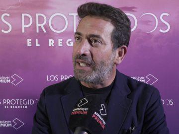 Las emotivas palabras de Antonio Garrido a sus 'hijos'