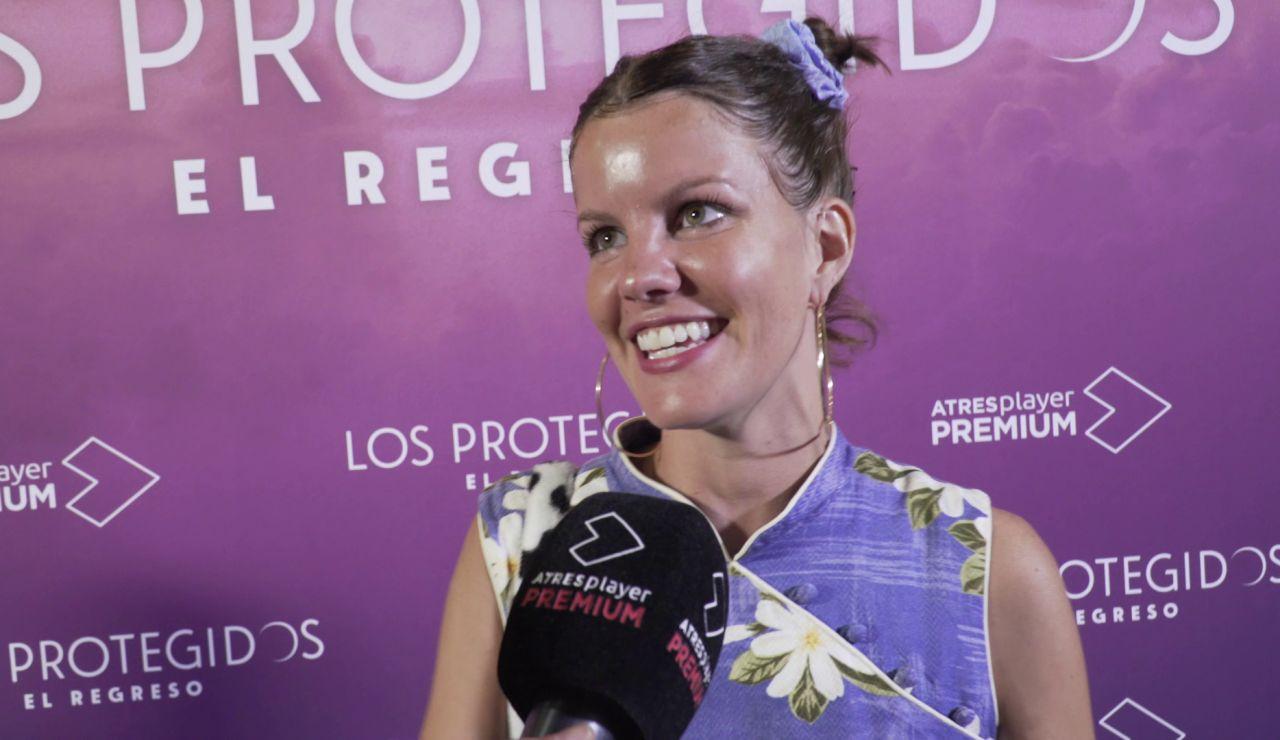 Carlotta Cosials es Paqui en 'Los Protegidos: el regreso'